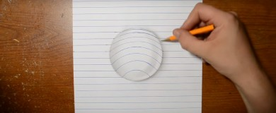 How to Draw 3D Art